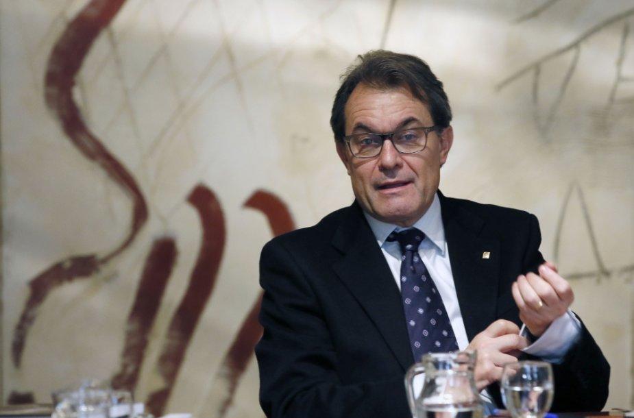 Katalonijos prezidentas Arturas Masas