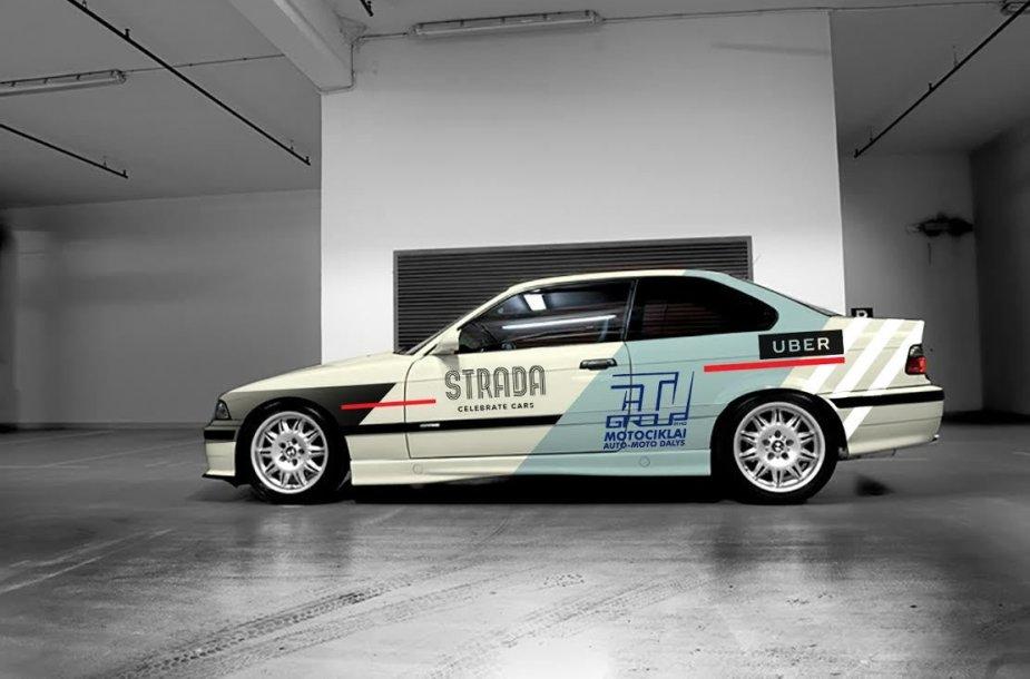 Karolio Raišio naujasis BMW M3 dizainas