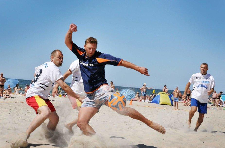 Paplūdimio futbolo turnyras
