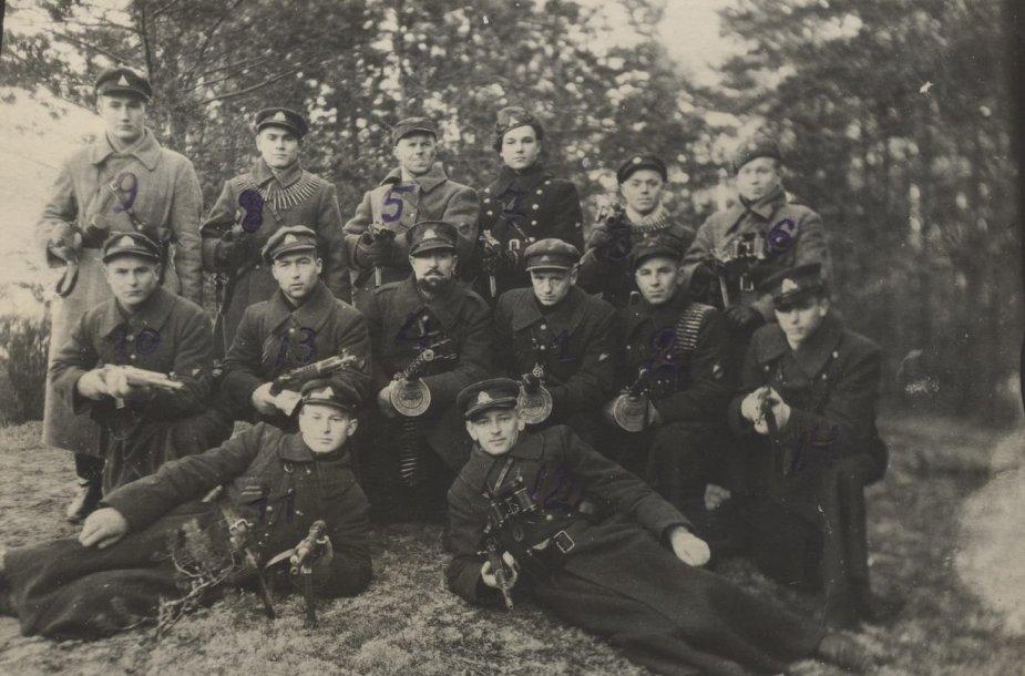 Lietuvos partizanai – Laisvės premijos laureatai
