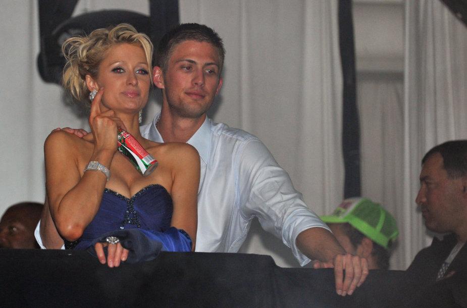 Paris Hilton ir Conradas Hiltonas