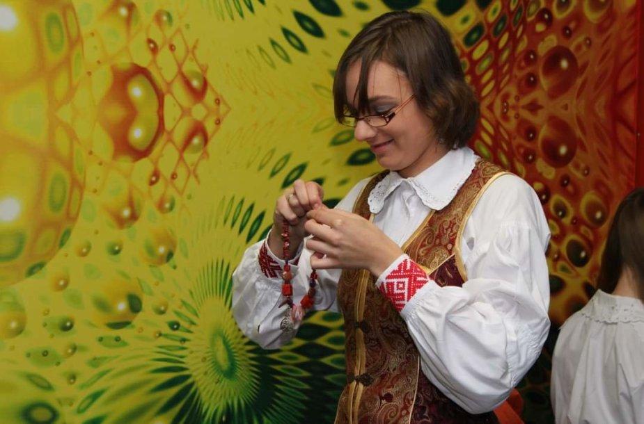 Muzikos mokytoja Eglė Marija Kavaliauskienė