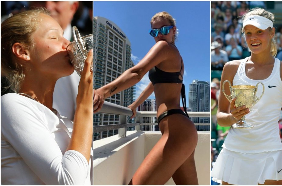 Sofija Žuk buvo perspektyvi teniso žaidėja, o dabar nori dirbti modeliu.