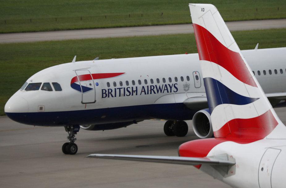 """""""British Airways"""" lėktuvas"""