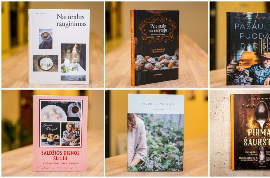 Naujos knygos apie maistą