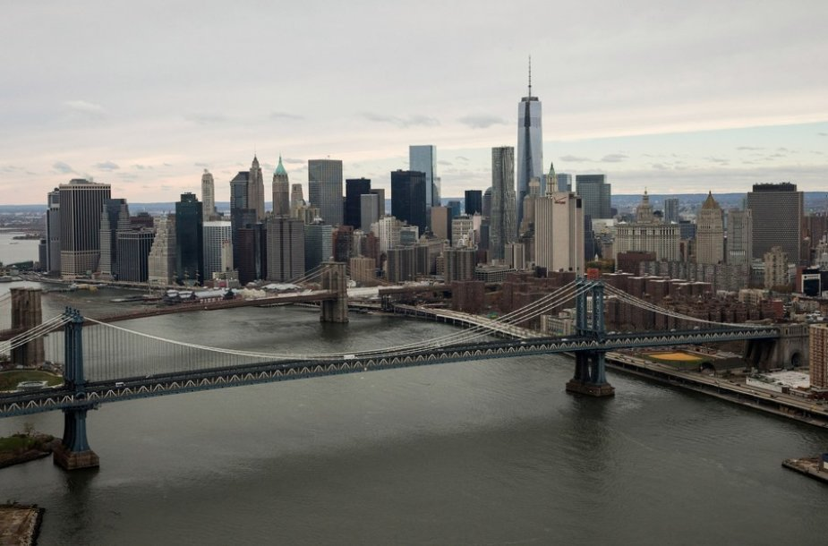 Naujasis Pasaulio prekybos centro dangoraižis Niujorke