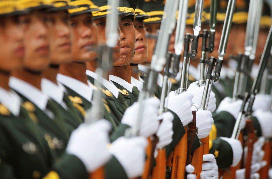 Kinijos kariuomenės tvarka