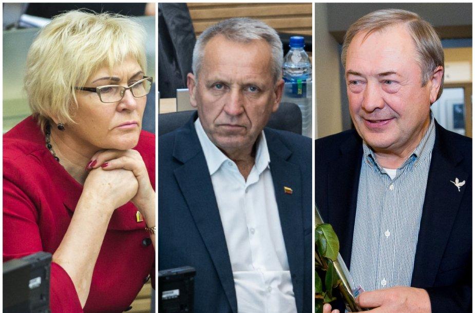 Levutė Staniuvienė, Antanas Baura, Viktoras Rinkevičius