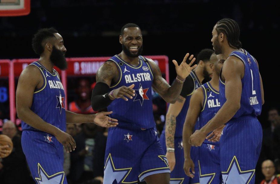 """NBA žvaigždės varžysis """"minuso"""" konkurse?"""