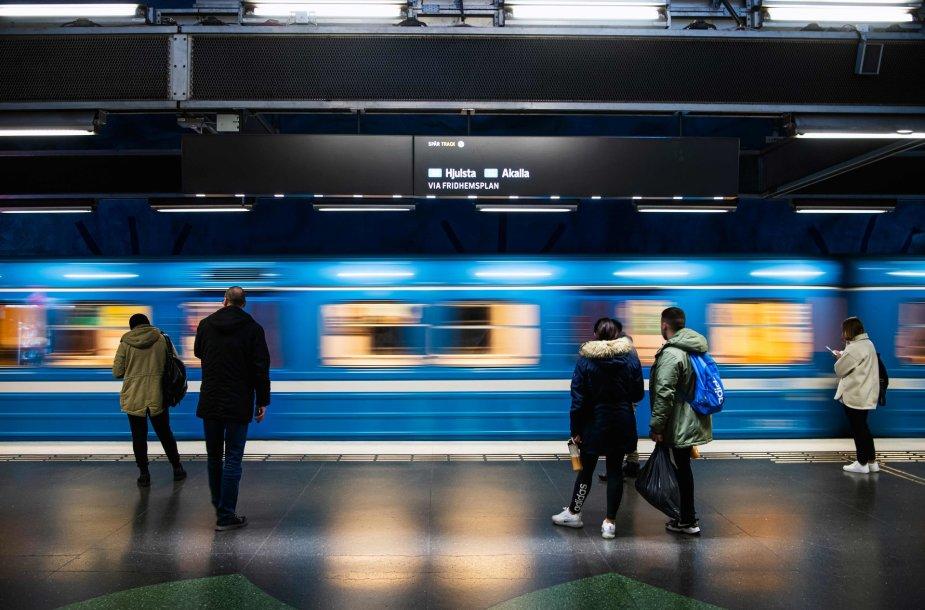 Stokholmo metro