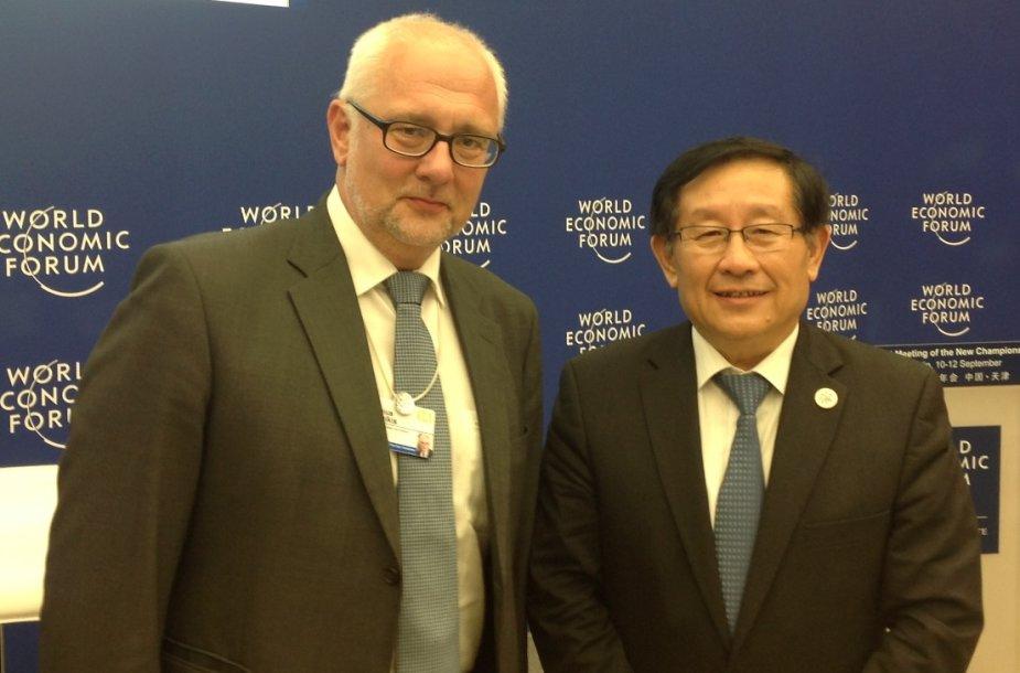 Lietuvos ir Kinijos švietimo ministrai