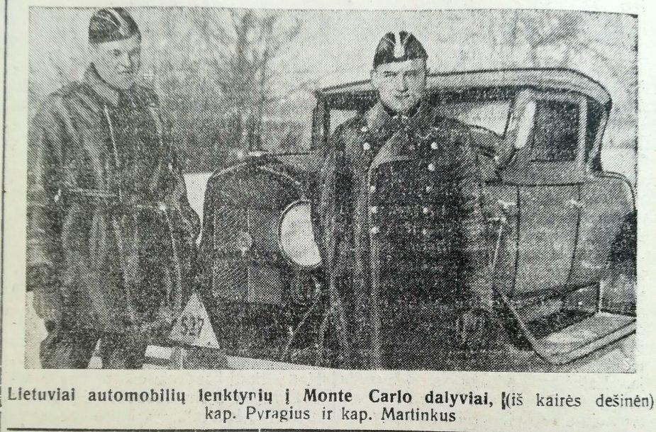 Klemas Martinkus ir Jonas Pyragius (1931 m.)