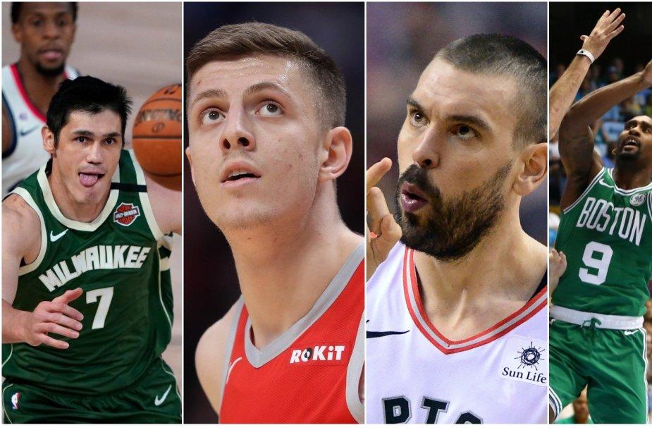 NBA laisvų žaidėjų rinka prasideda pirmadienį.
