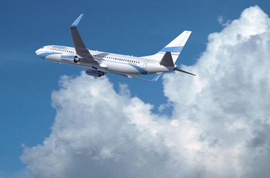 """Enter Air"" lėktuvas"