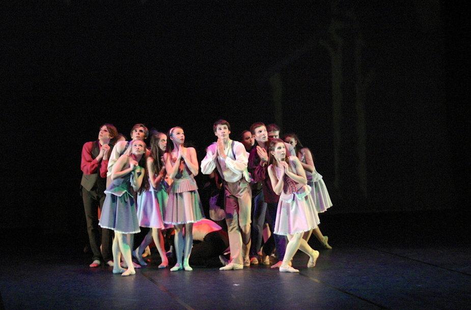 """Šokio teatras pristato baletą """"Baltaragio malūnas"""""""