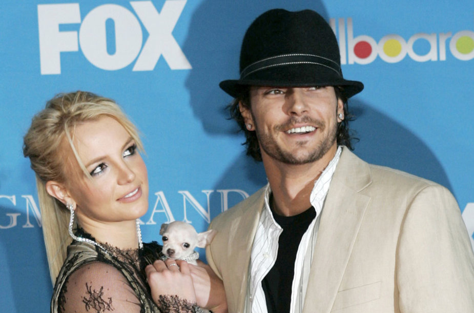 Britney Spears ir Kevinas Federline'as 2004 metais