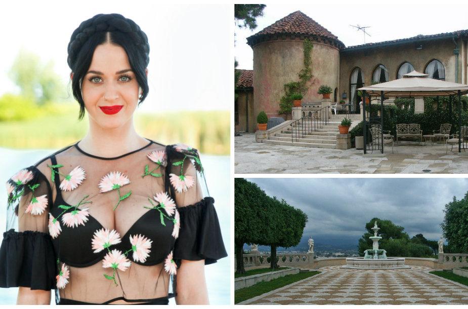 Katy Perry nusipirko buvusį vienuolyną