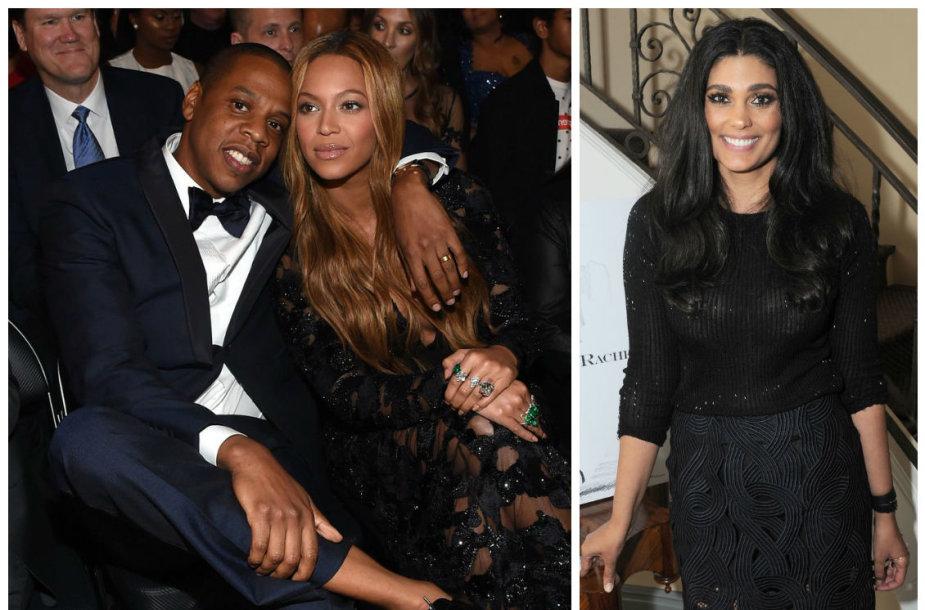 Jay Z ir Beyonce bei Rachel Roy