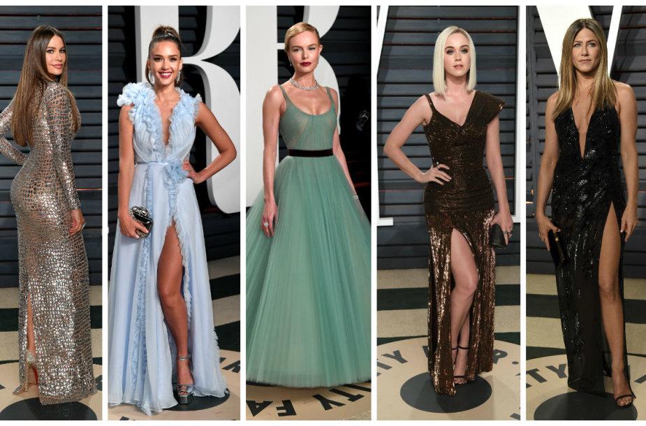 Sofia Vergara, Jessica Alba, Kate Bosworth, Katy Perry ir Jennifer Aniston