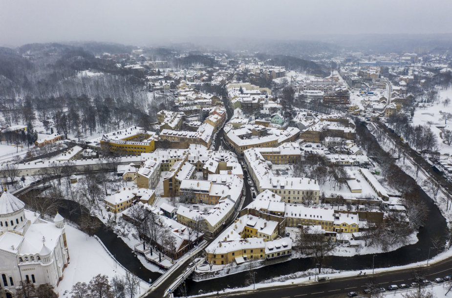 Snieguotas ir baltas Vilnius