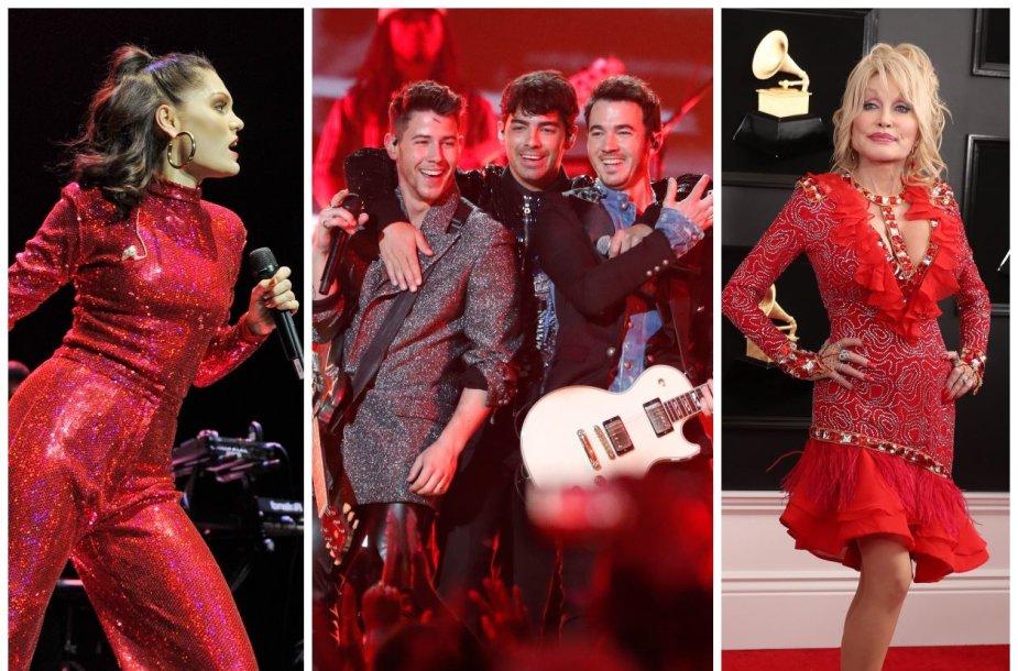 """Jessie J, """"Jonas Brothers"""", Dolly Parton"""
