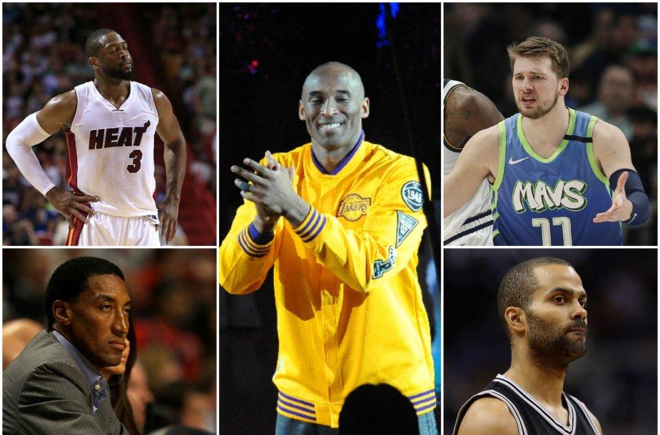 Krepšinio pasaulis gedi žuvusio Kobe Bryanto