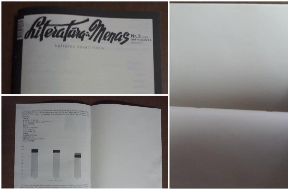 """Naujas """"Literatūros ir meno"""" numeris"""