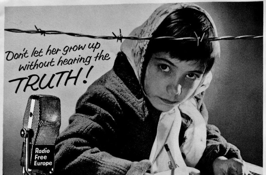 Laisvosios Europos Radijo reklama Šaltojo karo metais