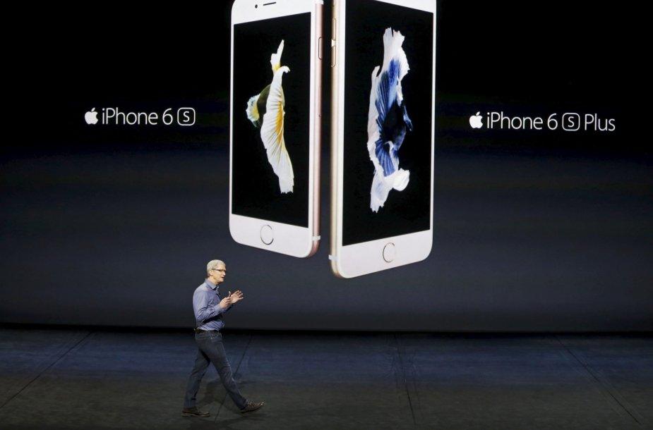 Rugsėjo 9 diena. Pristatyti nauji Apple produktai