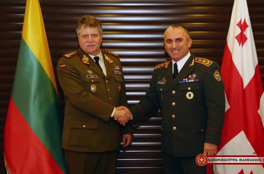 Vladimiras Čačibaja ir Jonas Vytautas Žukas