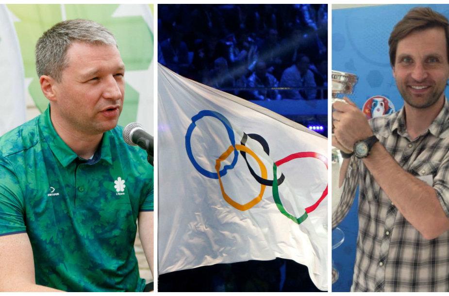 Vitalijus Vasiliauskas ir Ramūnas Grumbinas