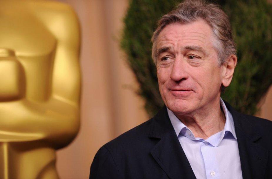 Robertas De Niro švenčia 70-ąjį gimtadienį