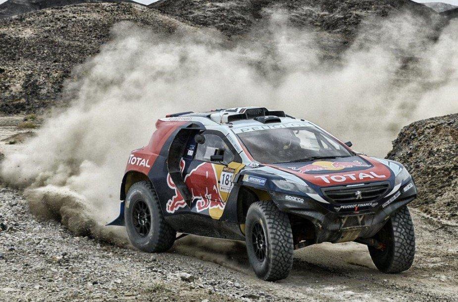 """Peugeot"" komanda ""Silk road"" ralyje"