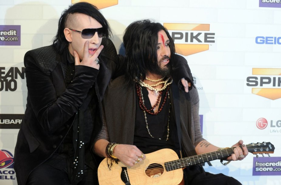 Marilyn Mansonas ir Twiggy Ramirezas