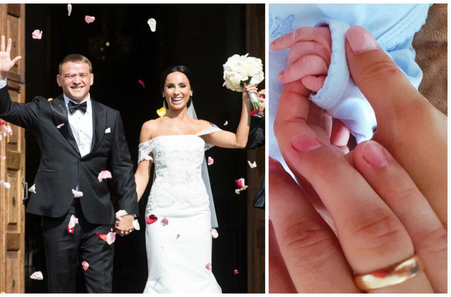 Greta Lebedeva ir Aleksandras Kazakevičius švenčia vestuvių metines