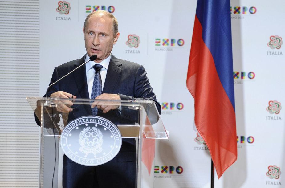Vladimiras Putinas Italijoje