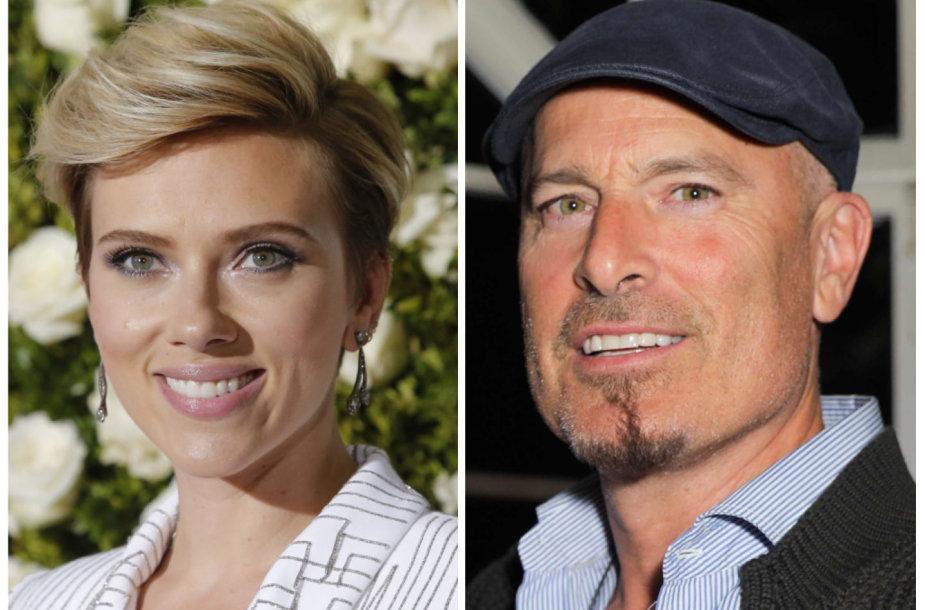 Scarlett Johansson ir KevinasYornas