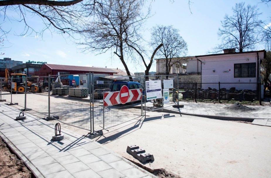 Kalvarijų turgaus rekonstrukcija