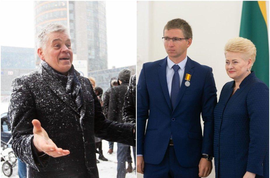 Dainius Pavilionis nusivylęs, kad Mykolas Masilionis palieka darbus Lietuvos irklavimo federacijoje.
