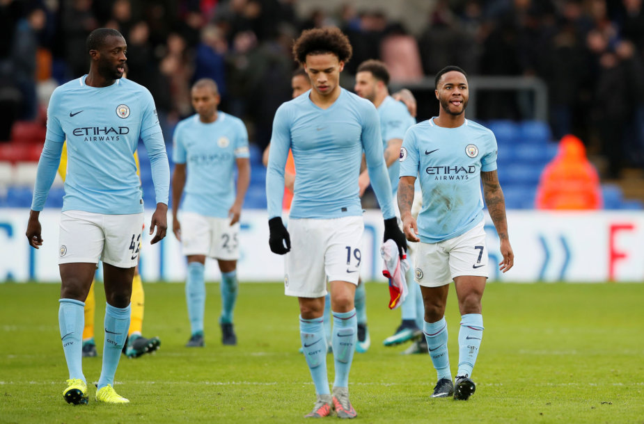 """""""Crystal Palace"""" – """"Manchester City"""""""