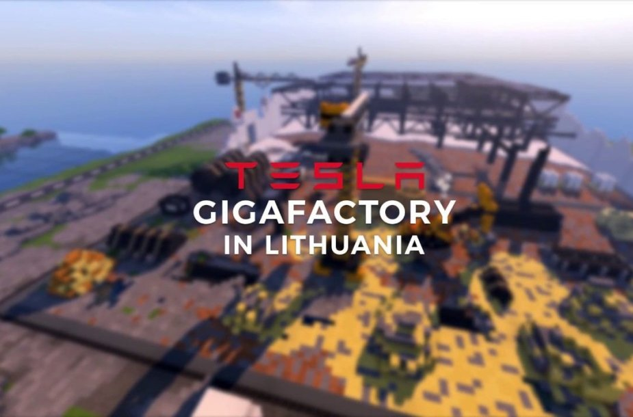 minecraft-tesla-gigafactory-in-lithuania