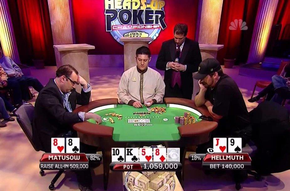 Nacionalinio pokerio dvikovų čempionato akimirka / nhupc.com nuotr.