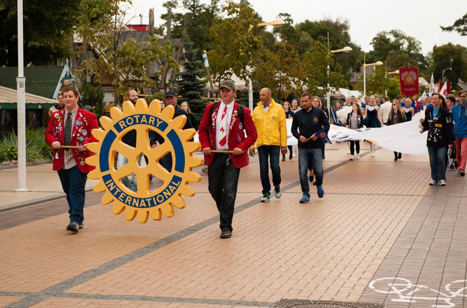 Rotary narių susitikimas Palangoje