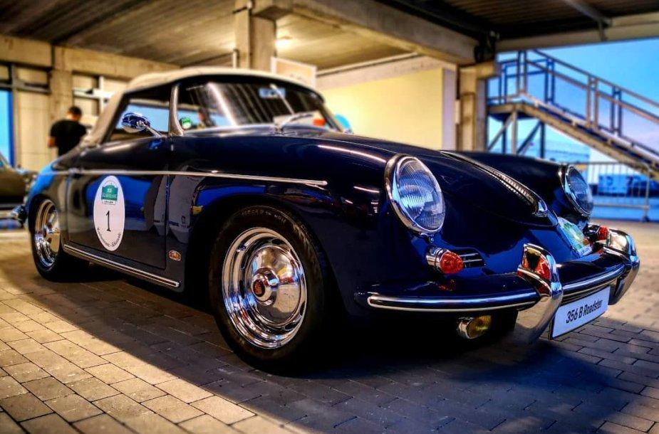 """Porsche 356 B Roadster"" Silezijos trasoje"