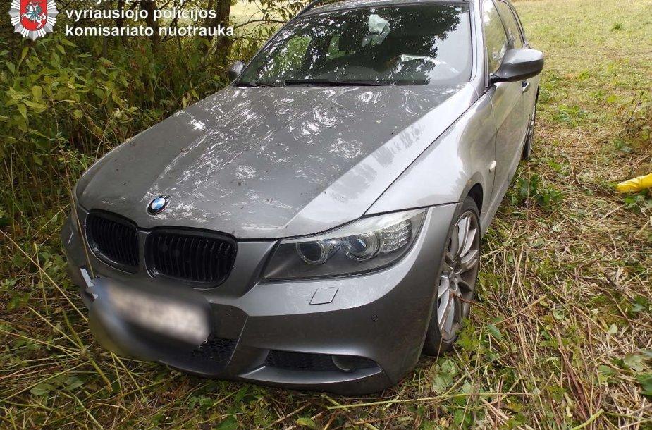 "Rastas Vokietijoje vogtas ""BMW"" automobilis"