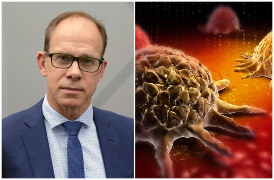 Robertas J. Thomas ir vėžio ląstelė