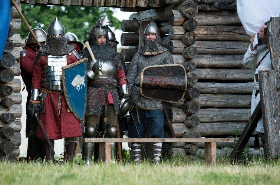 Trakuose vyko viduramžių šventė