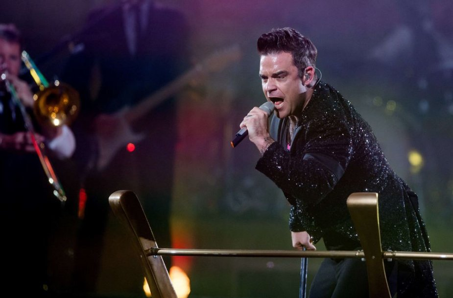 Robbie Williamso koncertinio turo akimirka