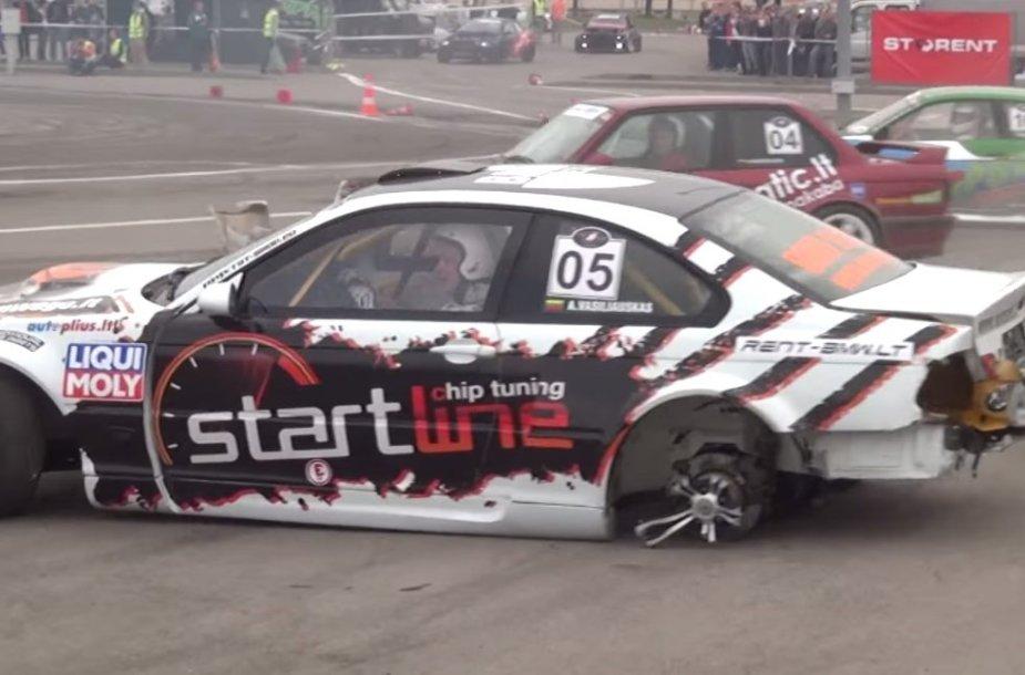 2014-ųjų metų Lietuvos autosporto momentai