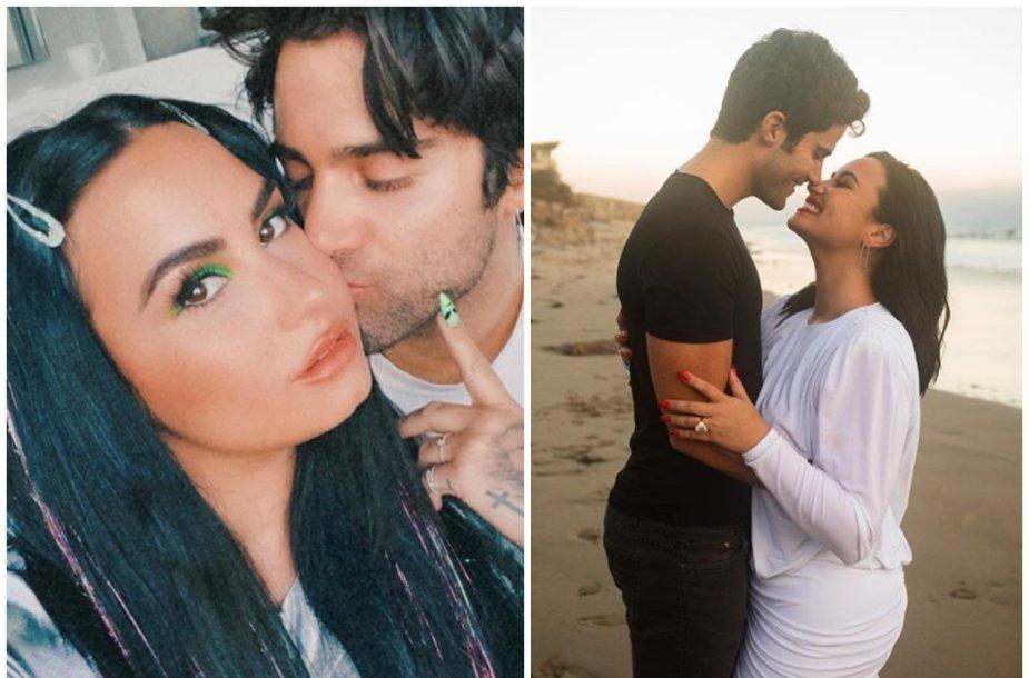 Susižadėjo Demi Lovato ir Maxas Ehrichas